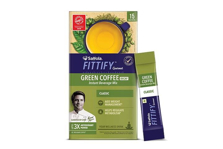 Saffola Fittify Gourmet Green Coffee