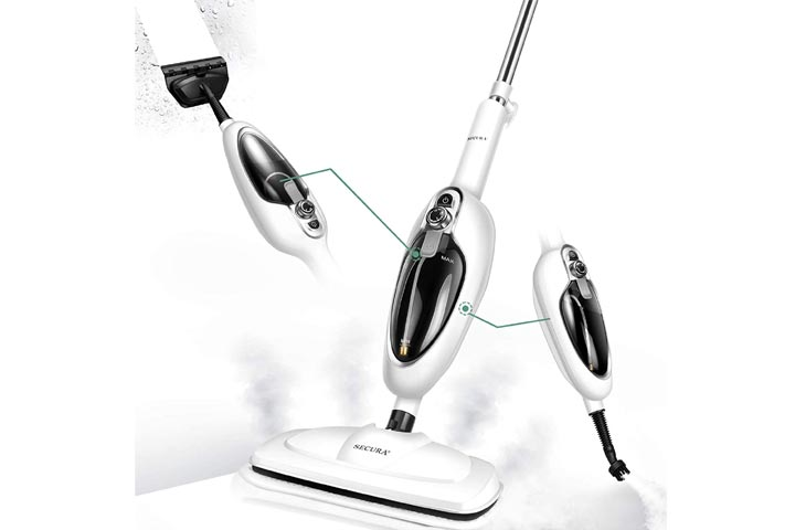 Secura 10-in-1 Steam Cleaner