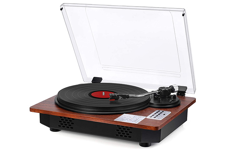 SeeYing Record Player With Speakers