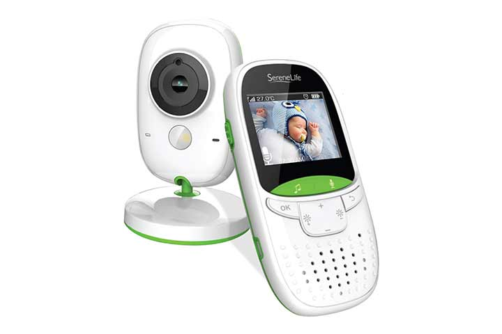 SereneLife Wireless Video Baby Monitor