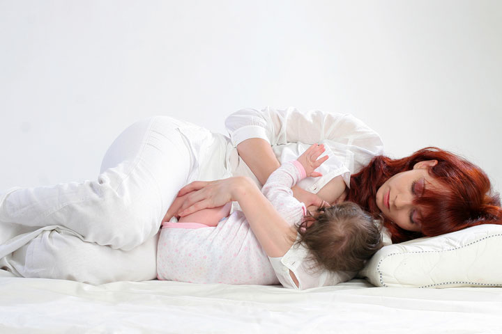 Side Lying Breastfeeding Position When And How To Do It