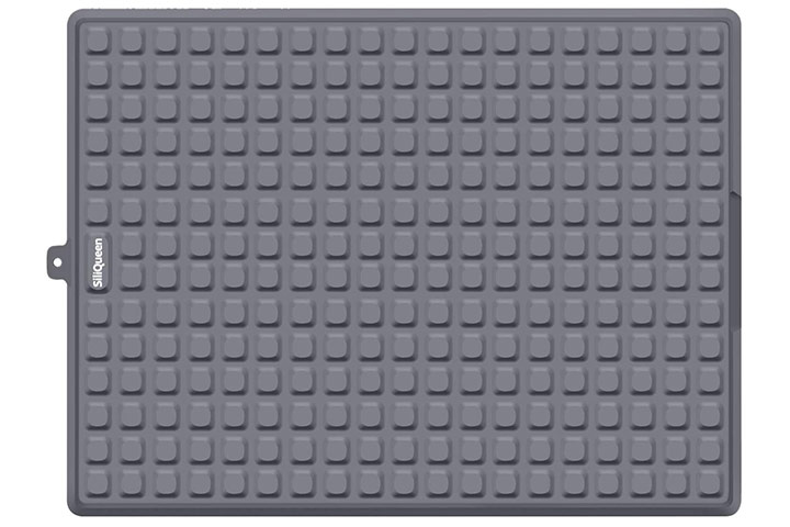 SiliQueen Silicone Drying Mat - Dark Gray