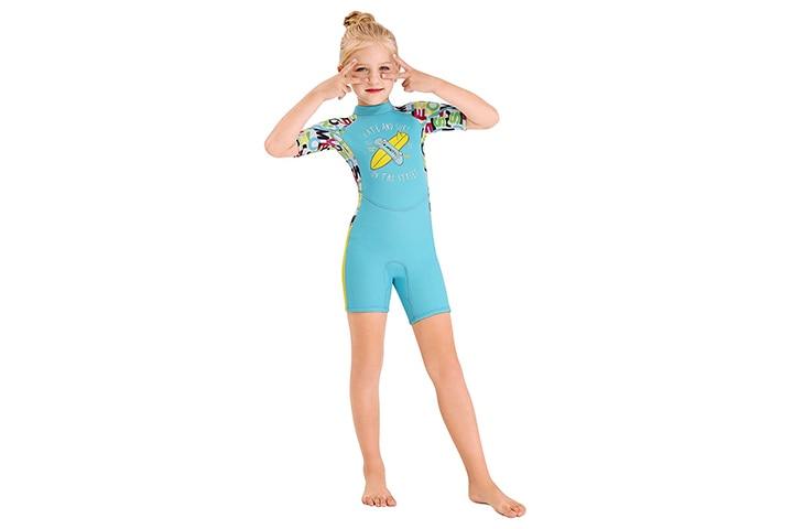 Skyone Kids Shorty Wetsuit