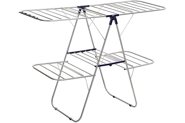 Songmics Foldable Clothes Drying Rack