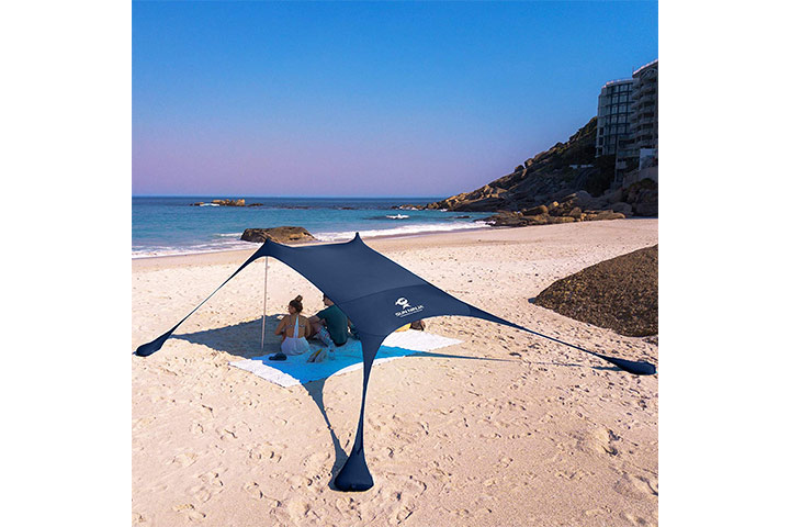 Sun Ninja Pop-up Beach Tent