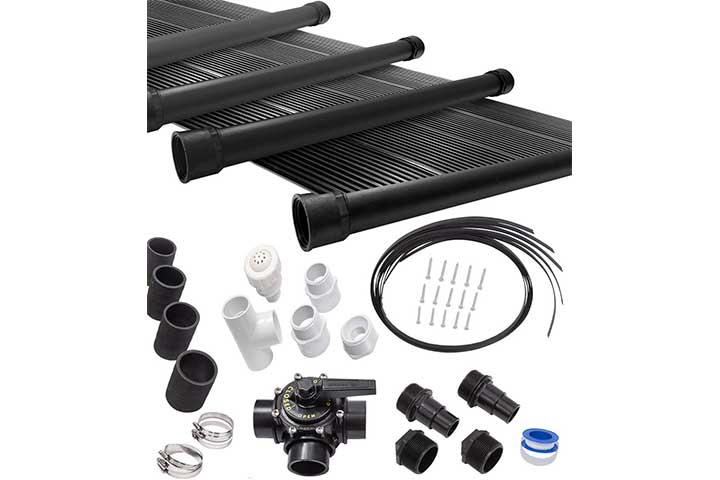 SunQuest Solar Swimming Pool Heater System with Roof Kits