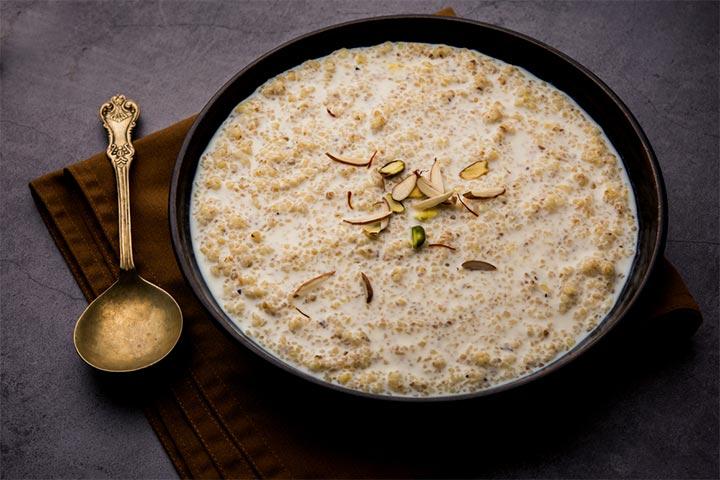 Sweet dalia porridge