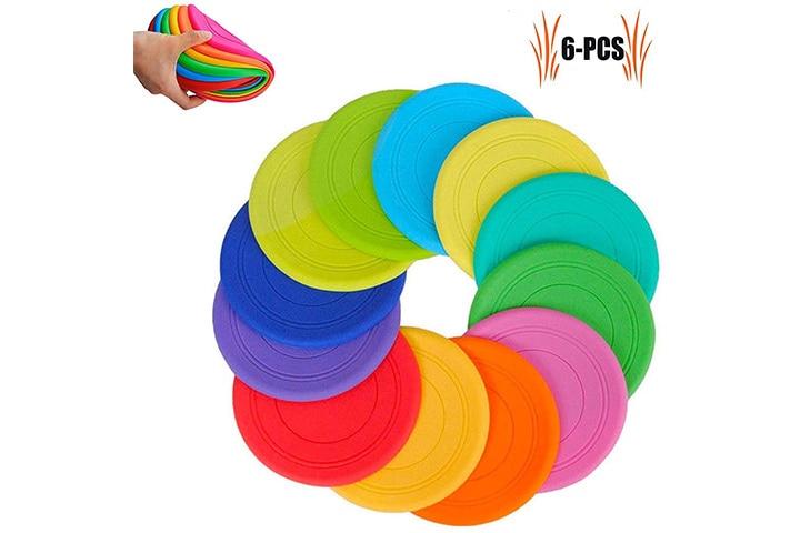 TEESUN Frisbee Kids Flying Disc Toy