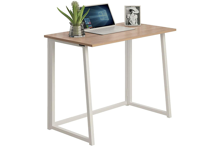 THKKY No-Assembly Folding Desk