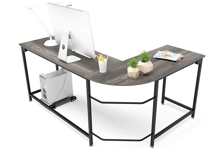 Teraves Modern L-Shaped Desk