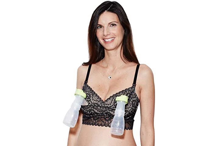 The Dairy Fairy Ayla Hands-free Pumping and Nursing Bra