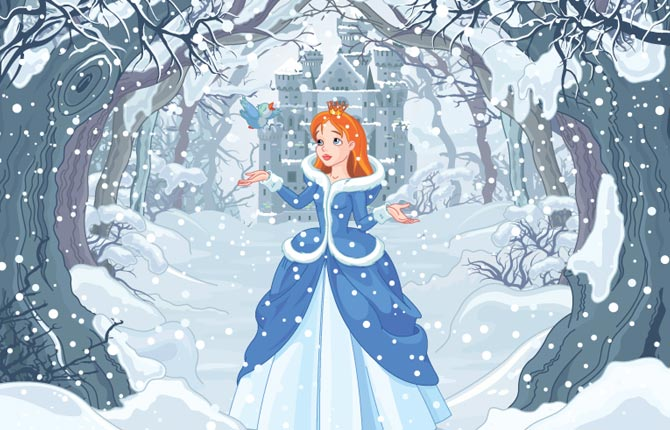 The Snow Queen  First Story In Hindi