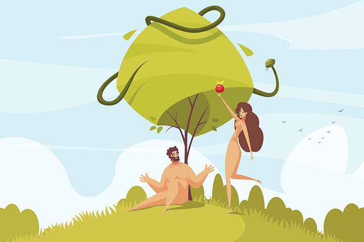 The Story Of Adam And Eve For Kids, From The Bible