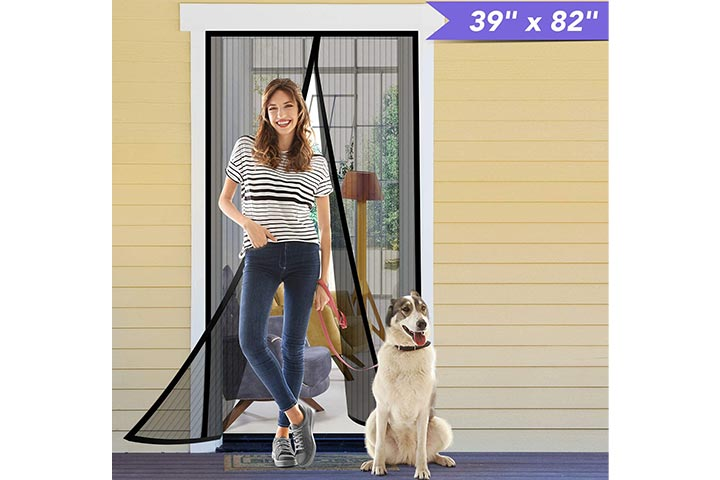 Titan Mall Magnetic Screen Door