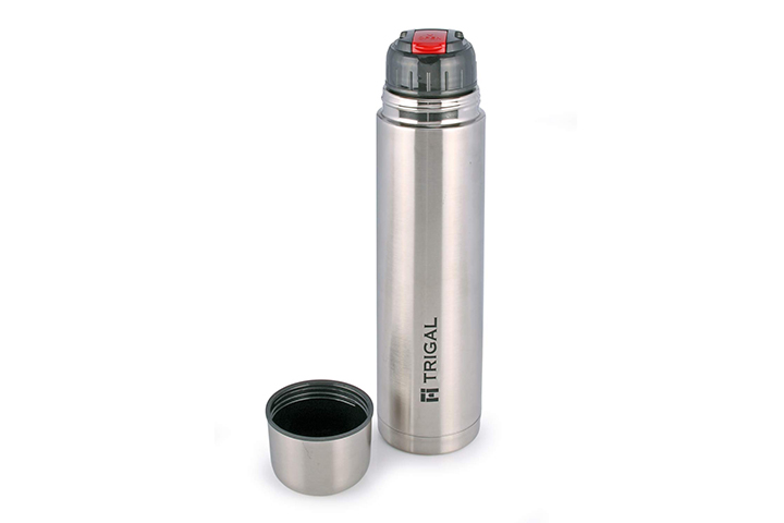 Trigal Thermos Steel Flip Lid Flask