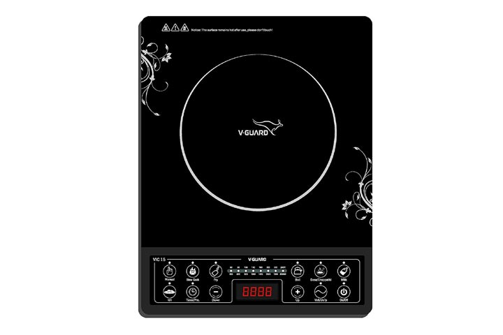 V-Guard VIC-15 2000-Watt Induction Cooktop