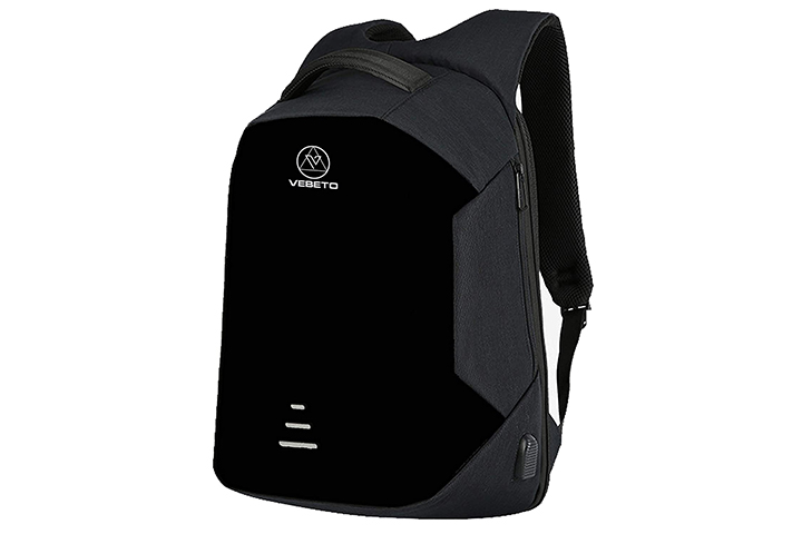 Vebeto Anti Theft Backpack With USB Charging Port