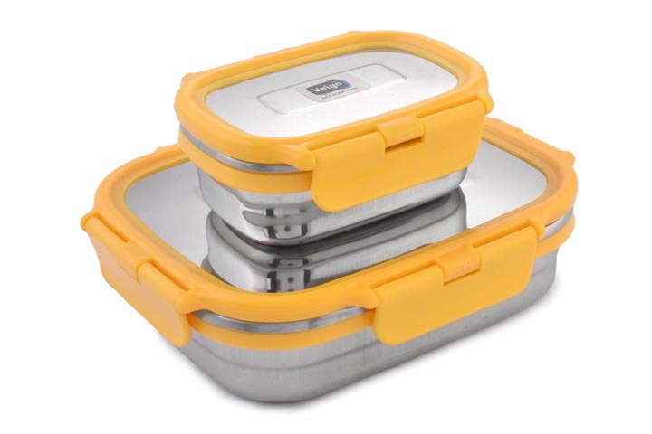 Veigo Lock N Steel Lunch Box