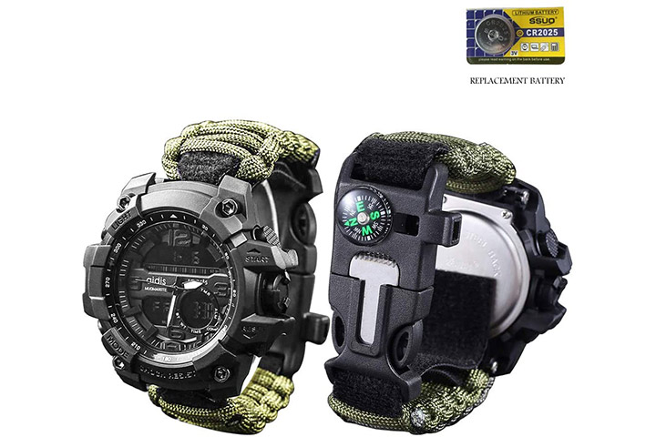 Vikano Survival Bracelet Watch