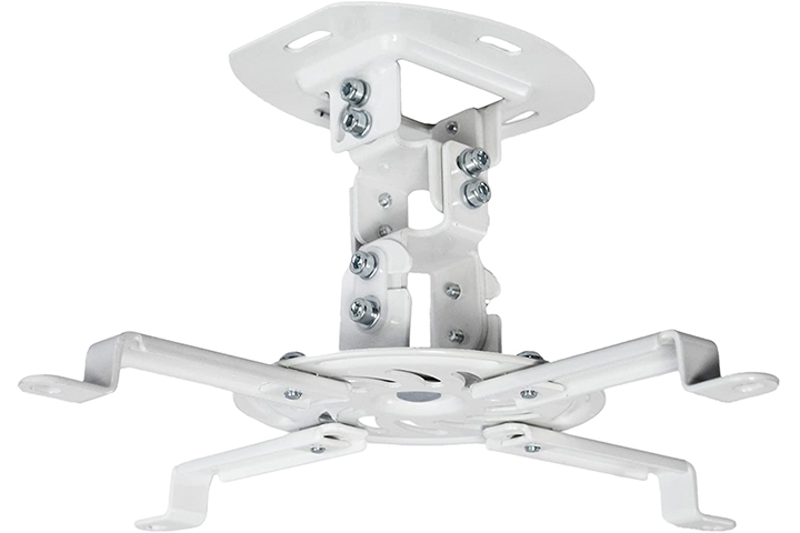 Vivo Universal Adjustable White Ceiling Projector