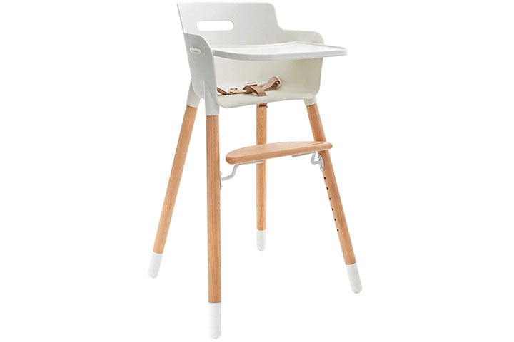 WeeSprout Wooden High Chair