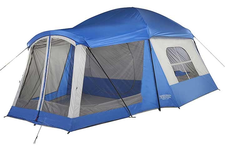 Wenzel Klondike 8-Person Family Camping Tent