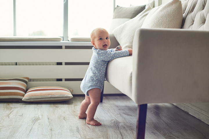 When Do Babies Start Standing Up And How To Encourage them