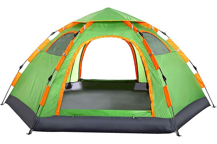 Wnnideo 4-5 Person Instant Family Tent