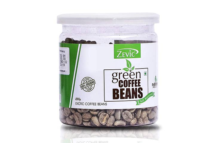 Zevic Green Coffee Beans