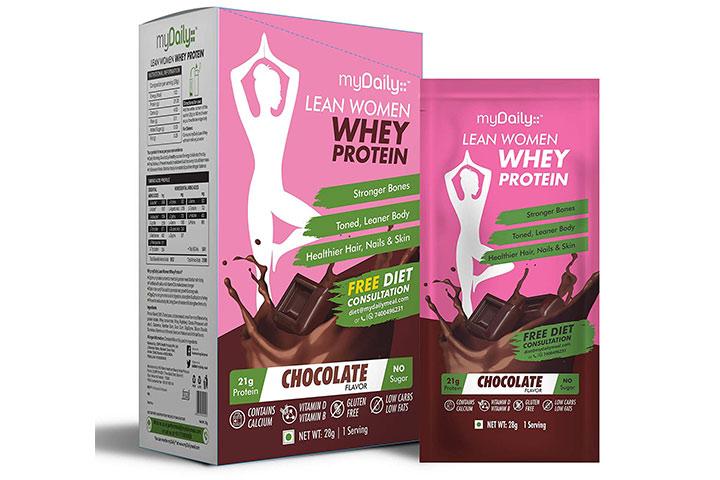 myDaily Lean Women Whey Protein Powder