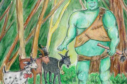 तीन बकरे भाई ग्रफ्फ की कहानी | The Three Billy Goats Gruff Story In Hindi