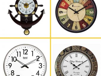 10 Best Wall Clocks In India (2021)