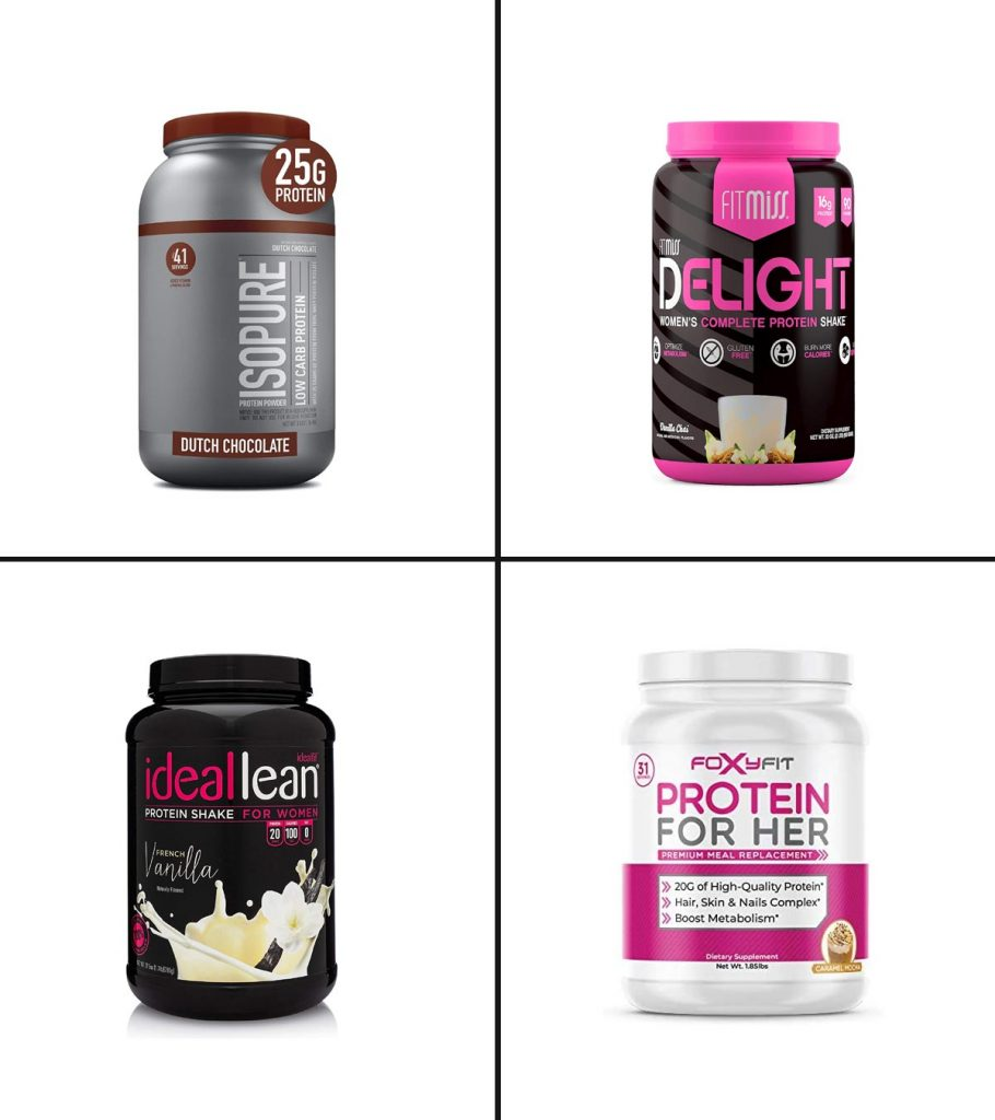 13 Best Whey Protein For Women Weight Loss in 2021