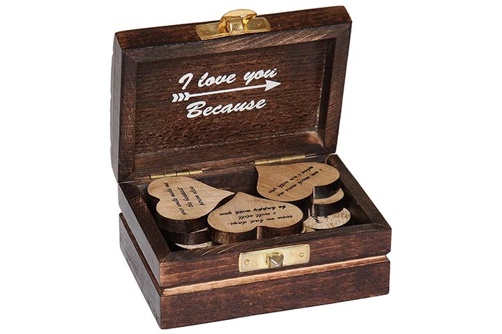 15 Wooden Hearts With Beautiful Love Quotes