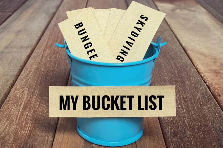 50th birthday bucket list