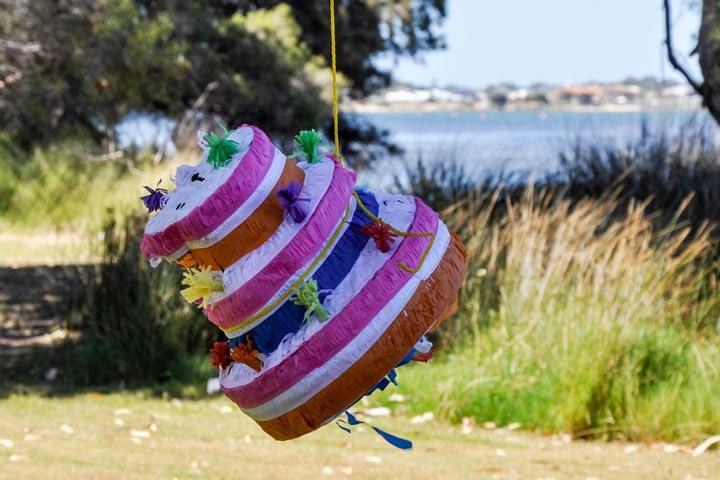 50th birthday piñata