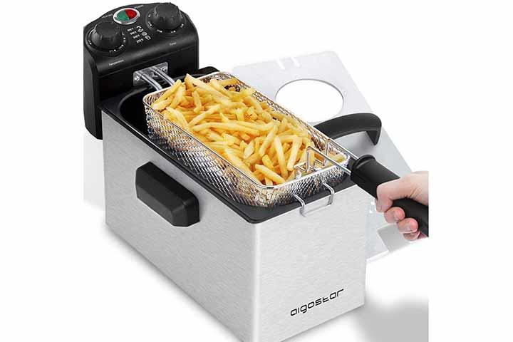 Aigostar Ken Deep Fryer - 3L Electric Deep Fat Fryers