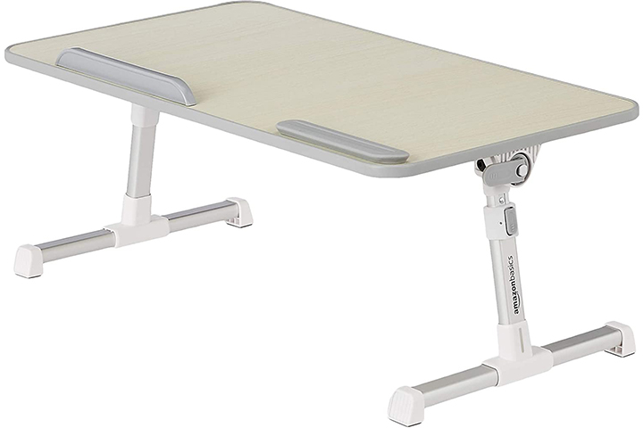 AmazonBasics Adjustable and Portable Laptop Table