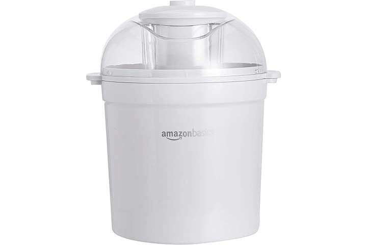AmazonBasics Automatic Homemade Ice Cream Maker
