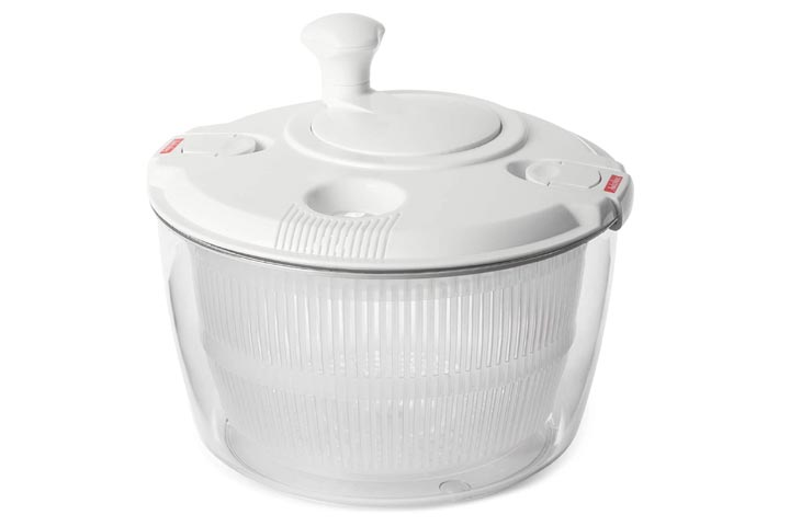Andcolors Deluxe Salad Spinner, Large