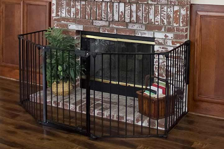 Best Choice Products Baby Safety Fence Hearth Gate