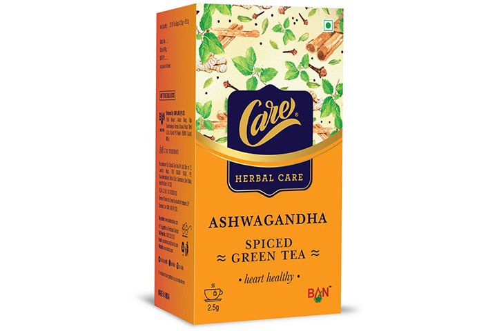 Care Ashwagandha Spiced Green Tea