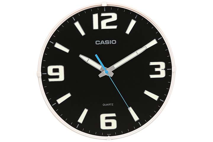 Casio Analog Wall Clock