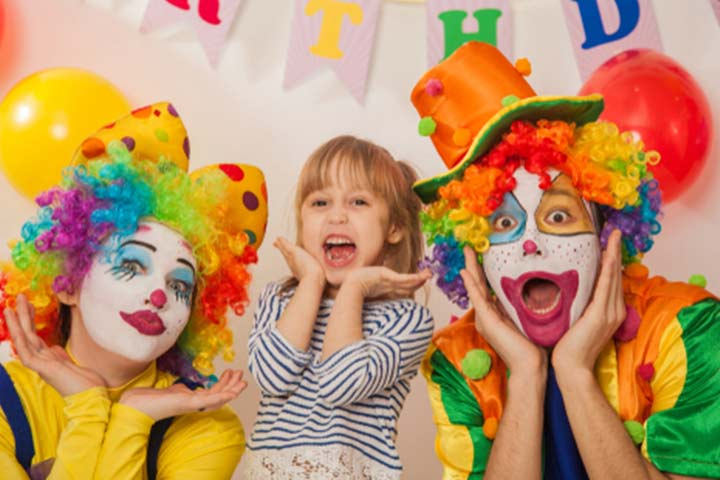 Circus-themed birthday party