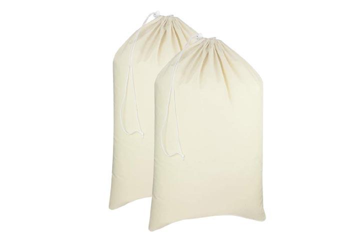 Cotton Craft Cotton Canvas Laundry Bags