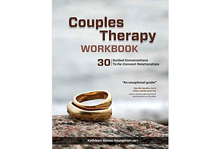 Couples Therapy Workbook 30 Guided Conversations To Re-Connect Relationships