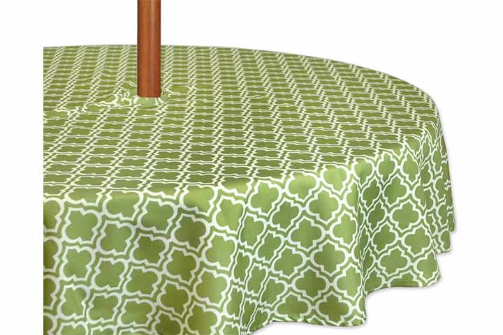DII Spring And Summer Outdoor Tablecloth