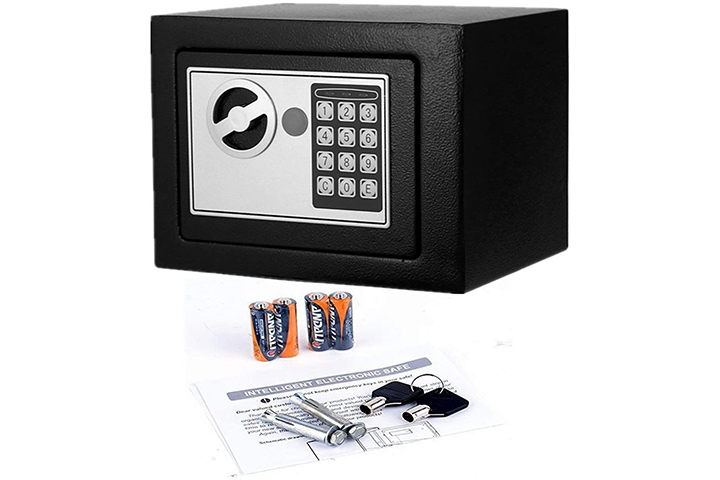 Digital Electronic Security Safe Box By Flyerstoy