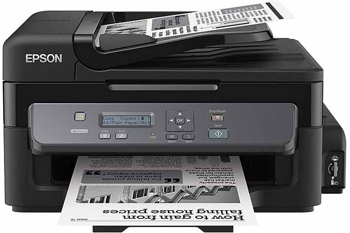 Epson M200 All-in-One, Monochrome Ink Tank