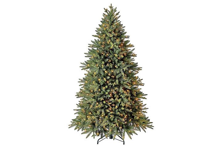 Evergreen Classics Pre-Lit Colorado Spruce Artificial Christmas Tree